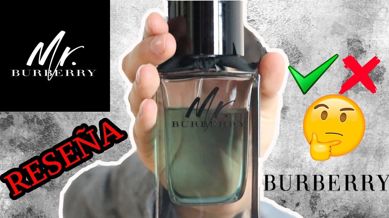 Mr. Burberry REVIEW - J.M. Montaño