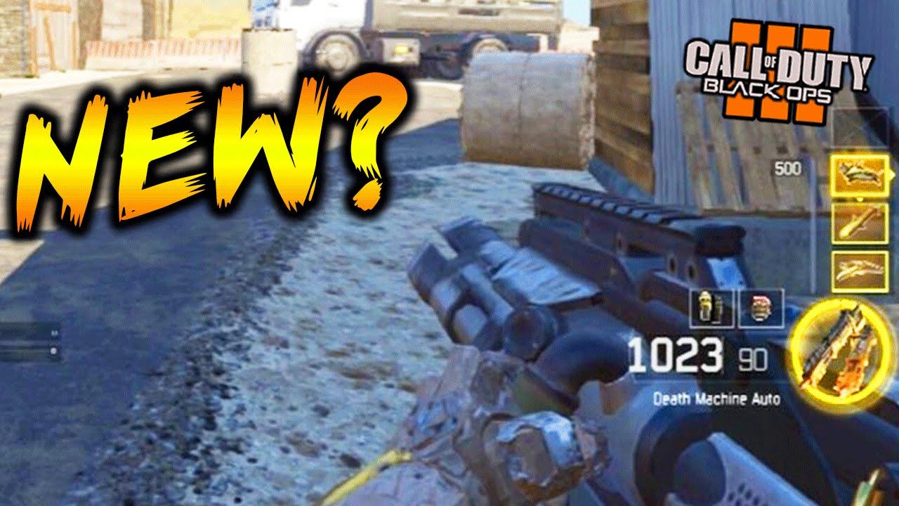 Call Of Duty Black Ops 3 Death Machine Gameplay Death Machine In