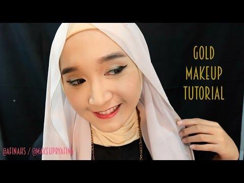 gold-makeup-tutorial
