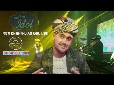 MOTI KHAN ! SHOWREEL ! @Indianidoljr ! Full HD!  The manganiyar fusion show (  2018 )
