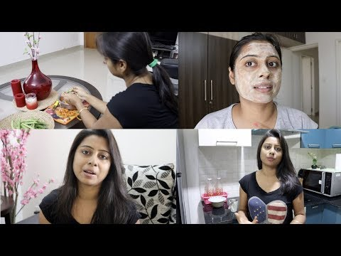 Indian Woman Afternoon to Night Routine 2018    Indian Vlogger Soumali
