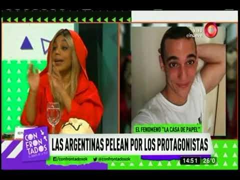 Las argentinas pelean por los actores de la casa de papel for Articoli x la casa online