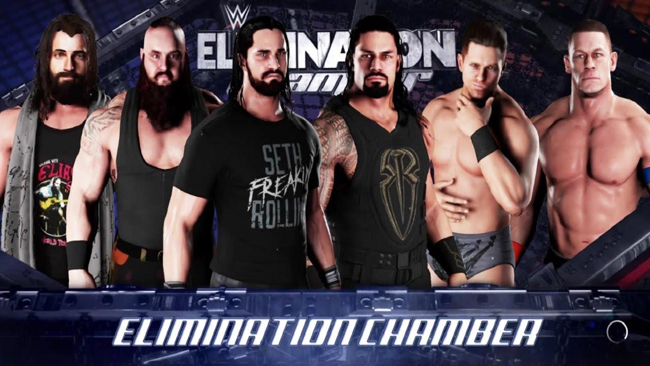 wwe elimination chamber 2019 ergebnisse