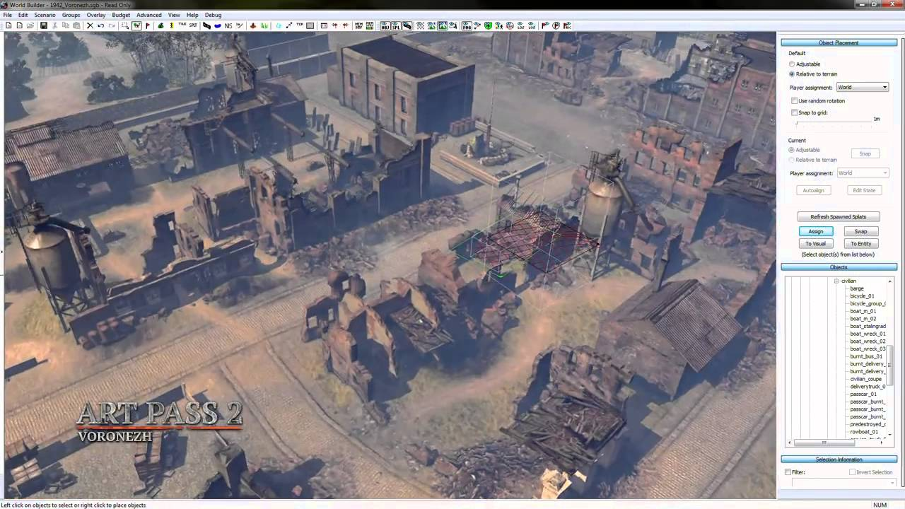 Company Of Heroes 2 World Builder Youtube