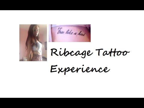 b77ed88476c9b My Ribcage Tattoo Experience - First Tattoo - YouTube