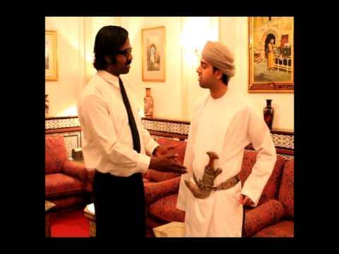 Wilbur in Oman: Typical Omani dress