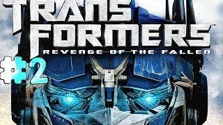 Transformers: Revenge of the Fallen - Walkthrough - Part 2 - The Battle Begins [HD]