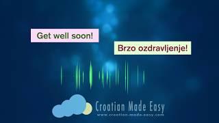 Croatian - English Translator - Learn Croatian quick & easy with CROATIAN-MADE-EASY