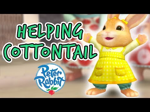 Peter Rabbit - Helping Cotton Tail!