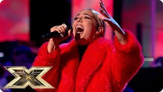 Bella Penfold sings Strong | Live Shows Week 5 | X Factor UK 2018
