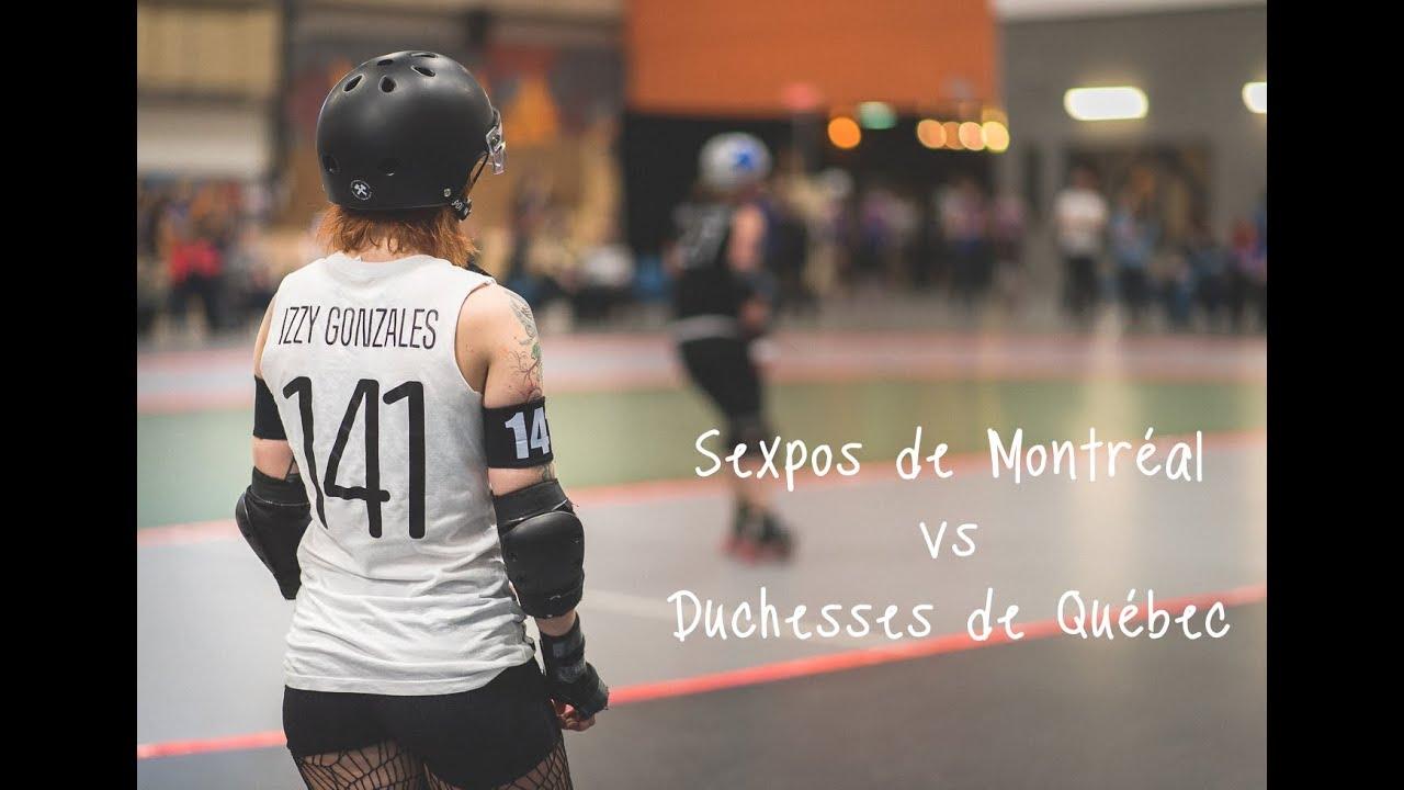 Roller skating montreal - Roller Derby Sexpos De Montral Vs Duchesses De Qu Bec 2 Avril 2016