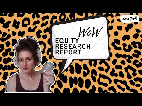 How to Write an Equity Research Report - Tips from Ex-Lehman
