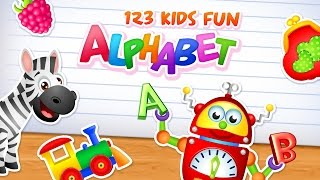 123 Kids Fun Alphabet | iOS and Android App for Toddlers and Preschoolers | Educational Apps