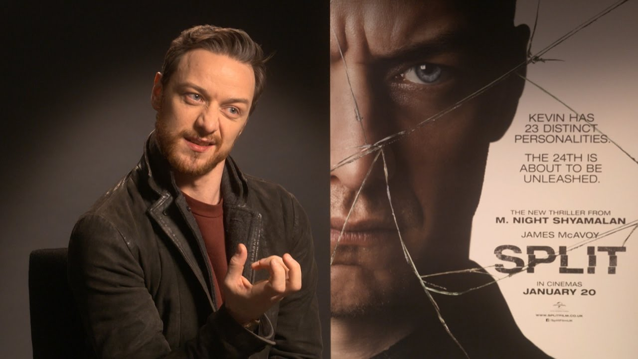 James McAvoy gets in t...