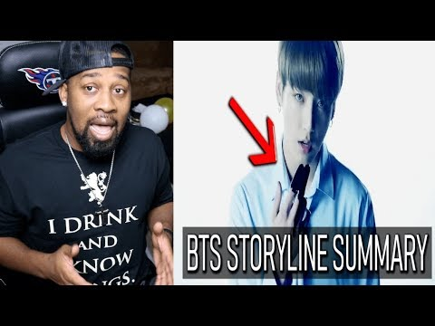 BTS STORYLINE SUMMARY + EXPLANATION | TIMELINE & THEORIES - REACTION