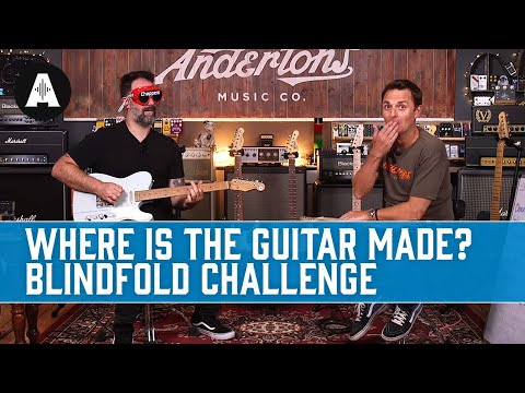 Where Is The Guitar Made? A Chappers T-Style Blindfold Challenge!