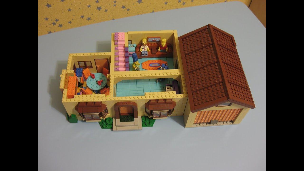 Лего Дом Симпсонов 71006, сборка 1 эт, ч.2, Lego The ...
