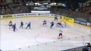Россия - Казахстан 7-2. Все голы. Чемпионат мира по хоккею 2014.(, 2014-05-15T19:50:20.000Z)