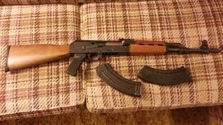 intro and range time with npap m70 ak47