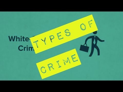 Types of Crime - Legal Studies