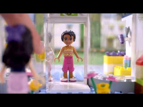 Lego Friends 41007 Heartlake Dierensalon Youtube