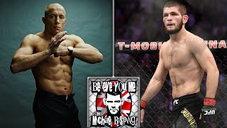 GSP Talks About The Khabib Fight