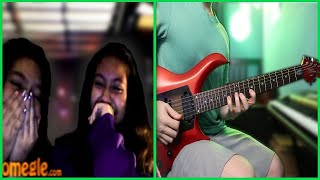 02 Playing Guitar on Omegle Singing Subscriber Comments