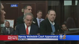 Harvey Weinstein Arraigned In New York Court thumbnail