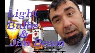 Video #101 Light Bulbs & Jim Beam, Trucker Jim's Truckin Journey download MP3, 3GP, MP4, WEBM, AVI, FLV Juli 2018