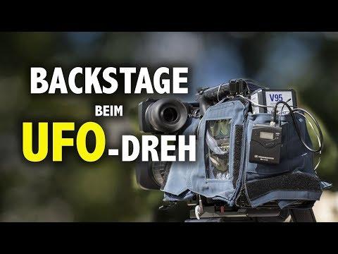 BACKSTAGE bei TV-Dreharbeiten mit UFO-Forschern