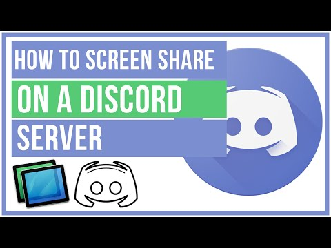 How To Screen Share On A Discord Server - Full Tutorial