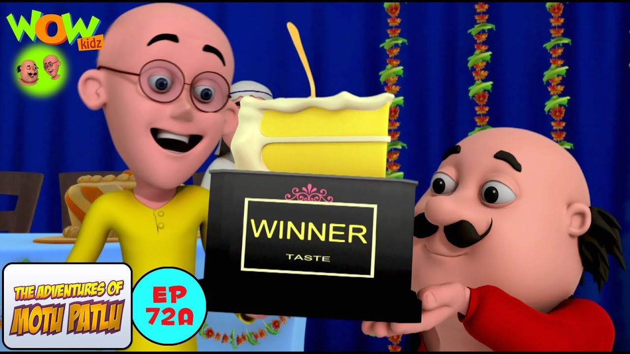 Cake Competition Motu Patlu In Hindi With English Spanish