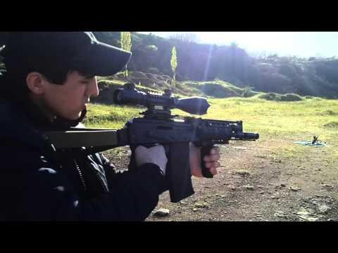 Сайга 410К 04 с прицелом, краткий обзор и стрельба