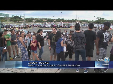 Bruno Mars Homecoming concert Aloha Stadium