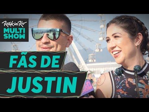 Qual o Justin? | Fãs de Justin Timberlake | Foquinha | Rock In Rio 2017