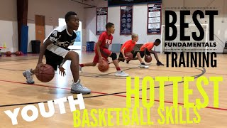 Youth Basketball Skills Training - Coach Lyonel Anderson
