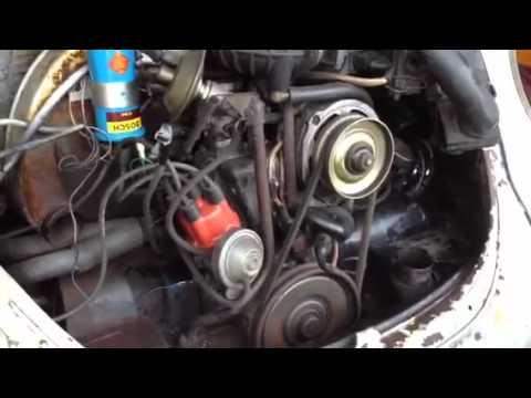 vw coil wiring diagram for 1996 gas club car golf cart 1979 superbeetle - youtube