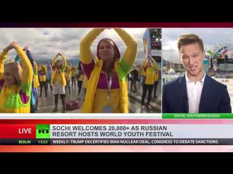 Sochi welcomes 20,000+ participants of 2017 World Festival of Youth & Students