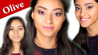 Scarlett Johansson Makeup ON INDIAN SKIN with Face CONTOURING and HIGHLIGHTING tutorial Thumbnail