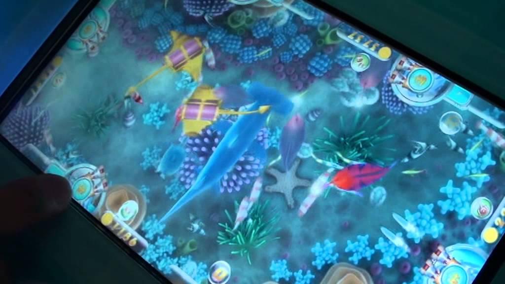 Ocean star 3 fishing arcade game video game machine youtube for Arcade fishing games