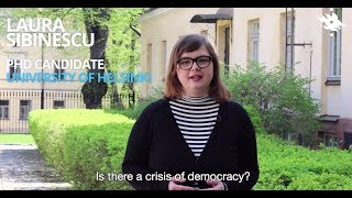 Valtsika Insight: Laura Sibinescu: is there a crisis of democracy?