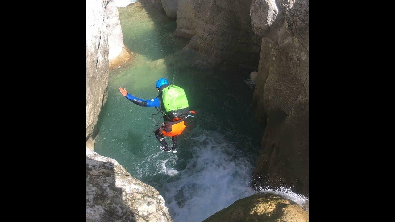 Découvrez en vidéo le canyon de Saint-Auban.