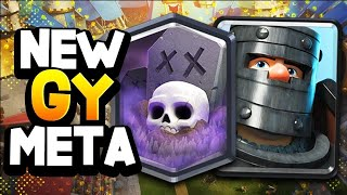 I'VE NEVER SHARED A GRAVEYARD DECK LIKE THIS....