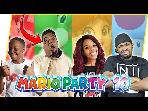 JUICE GETS BEAT UP FOR TALKING CRAP! - Mario Party 10 Gameplay