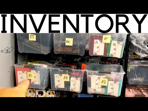 eBay Inventory Management System | How to Organize Your Products | Ralli Roots