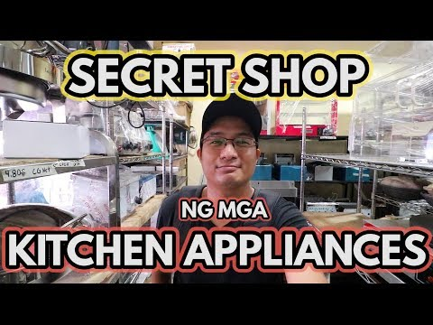 SECRET SHOP |  Ng Mga Kitchen Appliances!!! Secreto Ng Mga Businessman! | TRENDING