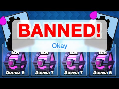 Thumbnail: Clash Royale - BANNED - Too Many Magical Chests?