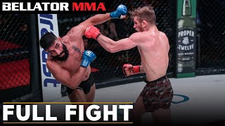 Full Fight | AJ Agazarm vs. Adel Altamimi - Bellator 238