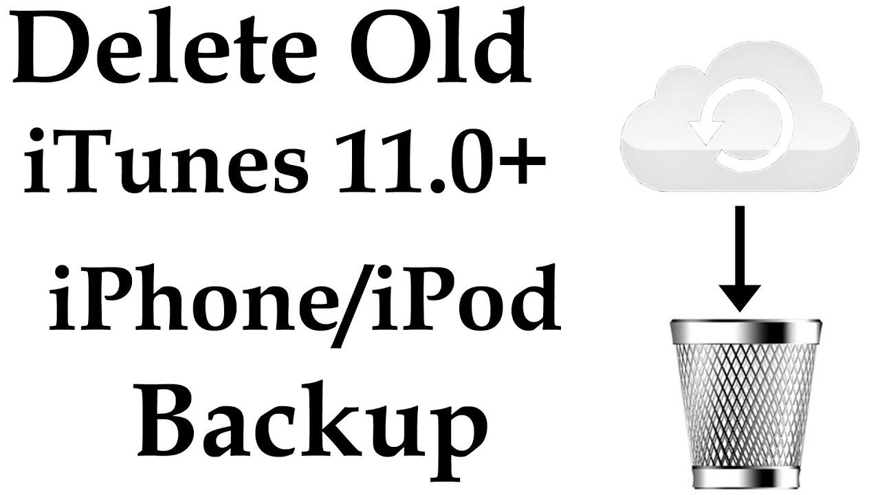 how to find old backups on itunes