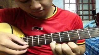 Hướng dẫn guitar solo fingerstyle Phía Sau Một Cô Gái by SMR p1